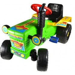 Tractor cu pedale Turbo green