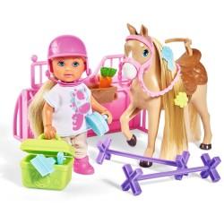 Papusa Simba Evi Love Holiday Horse 12 cm