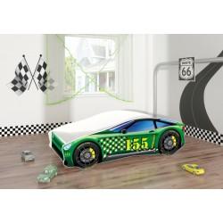 Pat Tineret MyKids Race Car 04 Green-160x80