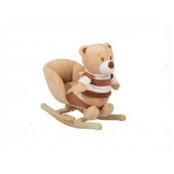 Balansoar plus pentru copii MONI Bear Khaki WJ-635