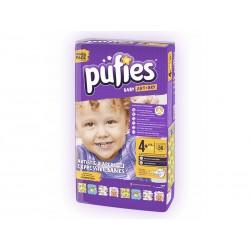 Scutece copii Pufies nr 4 Maxi Plus 9-16 kg 56 bucati