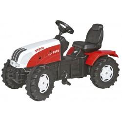 Tractor Cu Pedale Copii ROLLY TOYS 035304 Alb Rosu