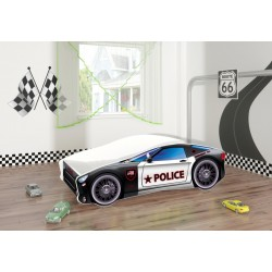 Pat Tineret MyKids Race Car 03 Police-140x70