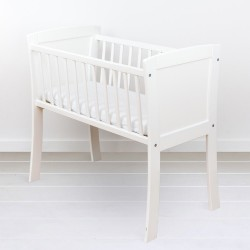 Mini Patut co-sleeping din lemn White 90 x 40 cm