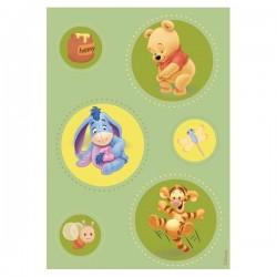 Covor copii Green Pooh model 403 160x230 cm Disney