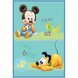 Covor copii Babies Mickey si Pluto model 308 140x200 cm Disney
