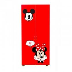 Sifonier copii Minnie@Mickey rosu