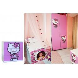 Mobilier Hello Kitty personalizat