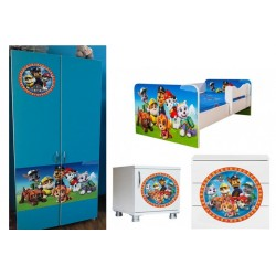 Mobilier complet Paw patrol