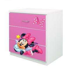 Comoda Minnie rosu