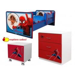 Pat Spiderman  personalizat +comoda - noptiera cadou
