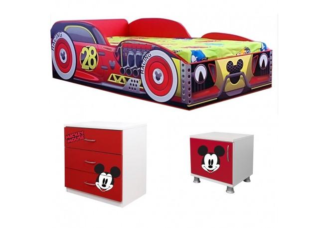 Promo Mickey-pat+comoda-noptiera cadou