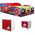 Pat masina Mickey+comoda+noptiera cadou