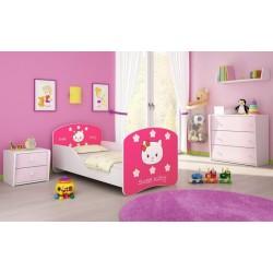 Patut Tineret I MyKids Sweet Kitty - 140x70