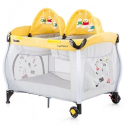 Patut pliabil Chipolino Twin Stars lemon
