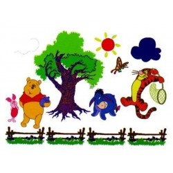 Decoratiune pentru camera copii MyKids Winnie The Pooh SRDF-1027