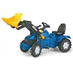 Tractor Cu Pedale Copii ROLLY TOYS 046713 Albastru
